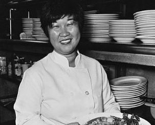 Back in the 1980s, the woman shown owned a mini-chain of Asian-inspired health food restaurants with locations throughout Manhattan. Her last name is Vilca. What is her first name?