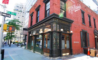 P.J. Clarke's, the landmark bar featured in a recent trivia question, originally had four floors but lost two. What happened to the top two floors?