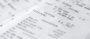 Always Compare the Total on Your Restaurant Check Against Your Bank Statement