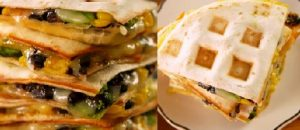 Use Your Waffle Iron on Weekdays to Make This Culinary Hybrid