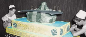 Duff Goldman's Navy Cake at the Intrepid and on Your Table