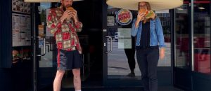 Burger King Unveils Giant Crowns to Maintain Social Distancing