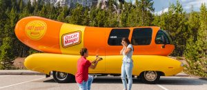 Now You Can Pop the Question with the Wienermobile as a Backdrop