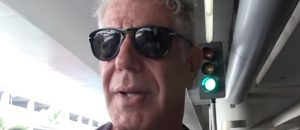 Why Anthony Bourdain Can Expect a Visit from the Secret Service